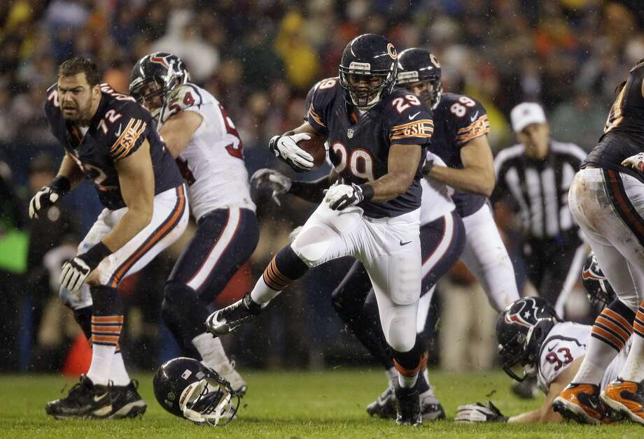 Who lost his head: Gabe Carimi, Chicago Bears. Who did the headhunting: Houston Texans.
