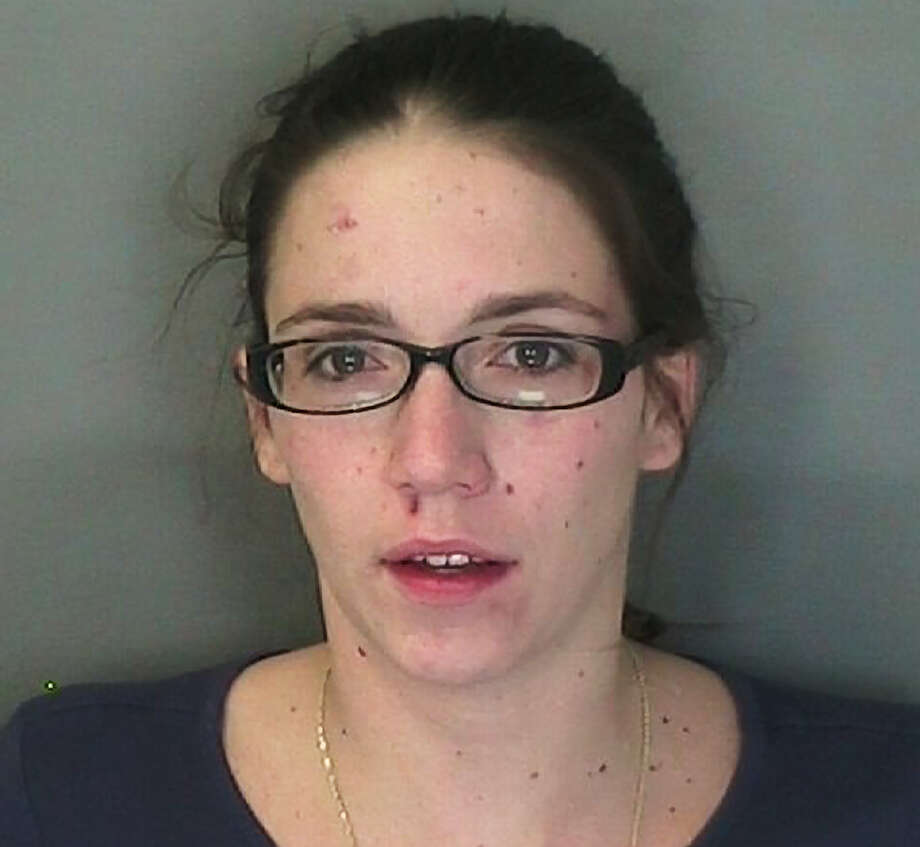 This photo provided by the Warren County Sheriff's Office shows Corinne Vintinner, of Burlington, Vt. Vintinner faces felony drug counts after police in New York state found heroin and cocaine in her vehicle after an accident, Wednesday, Nov. 21, 2012. (AP Photo/Warren County Sheriff's Office)