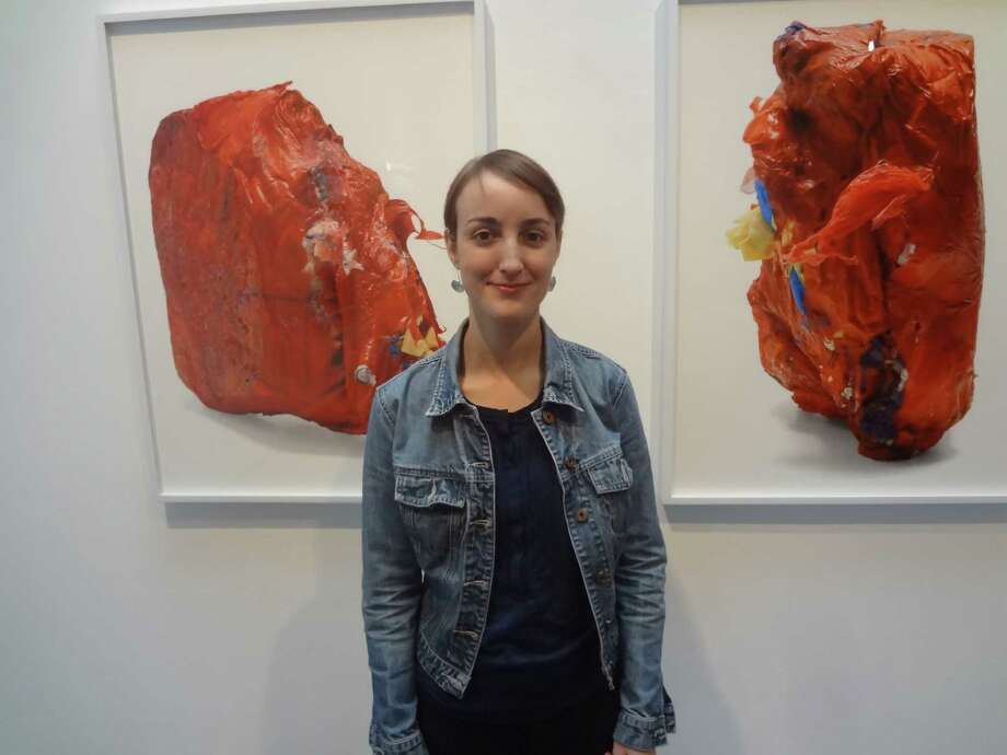 San Antonio artist Sarah Sudhoff continues her exploration of life's fragility and resiliency in an exhibition of photographs of medical waste at Artpace. Photo: Steve Bennett, San Antonio Express-News