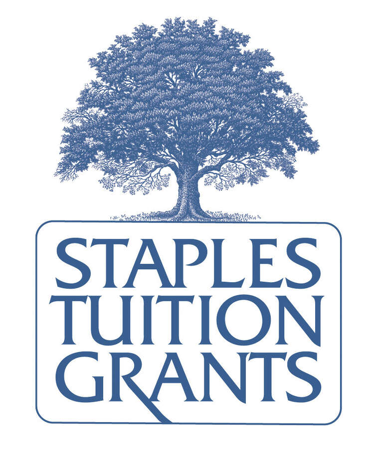 The new Staples Tuition Grants logo, updated by graphic artist Miggs Burroughs. Westport CT November 2012. Photo: Contributed Photo