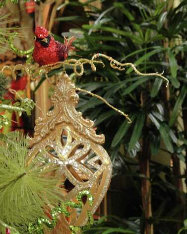 Birds are a popular motif for Christmas 2012. Photographed at Silk Greenery on Lockhill-Selma Road. Photo: Tracy Hobson Lehmann