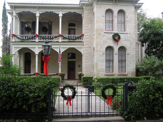 A distinctive Italianate-style home is among the houses that will be featured on the King William holiday home tour. Photo: Courtesy Deborah Mueller