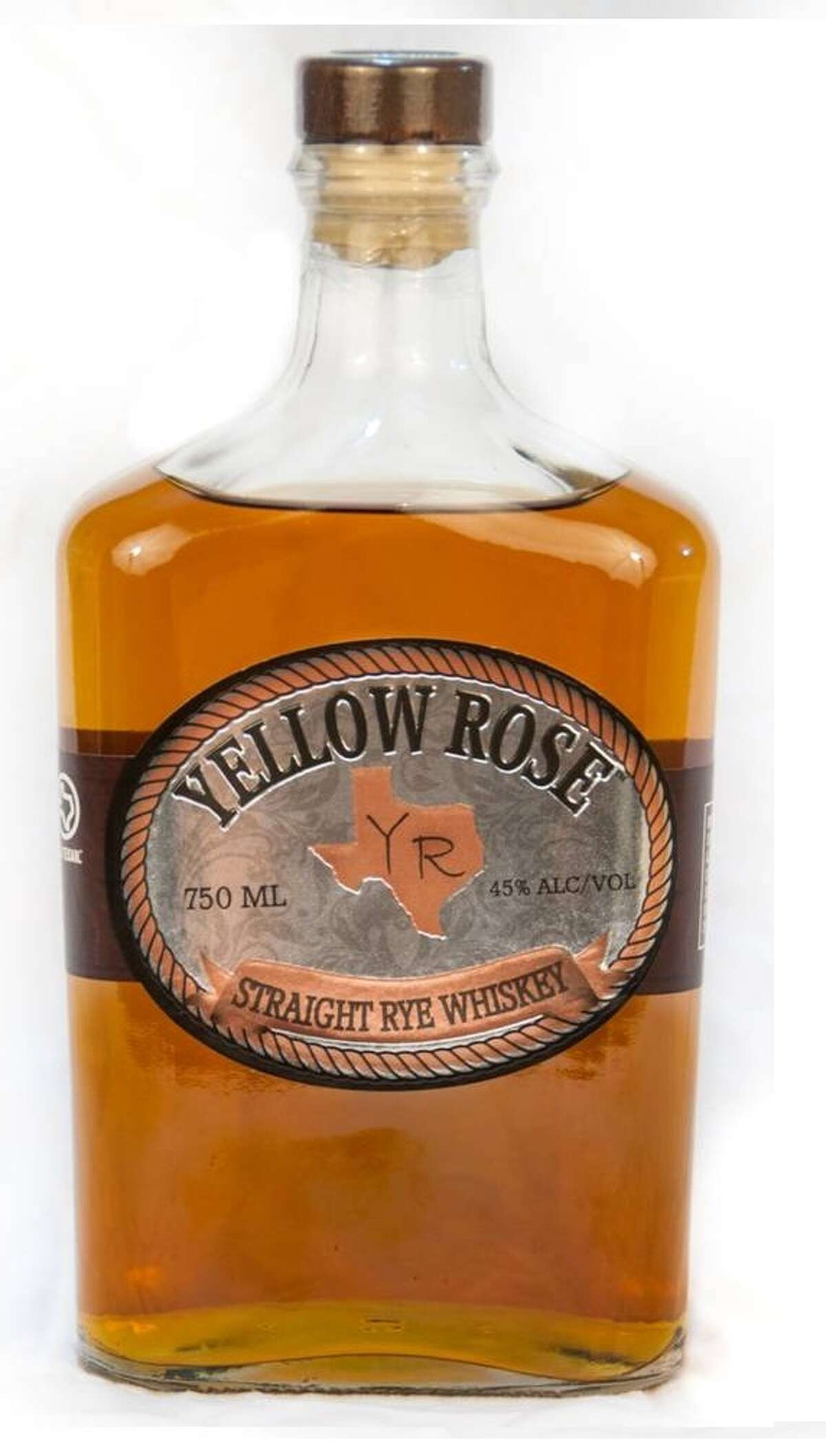 Yellow Rose Straight Rye Whiskey was launched October 2012. It comes from Yellow Rose Distilling, Houston's first whiskey distillery.