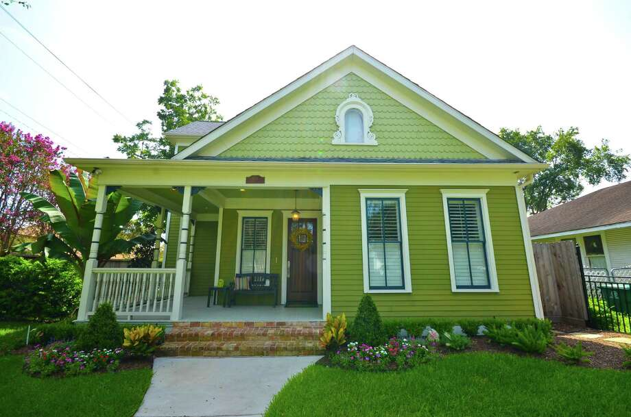 A featured home on the Houston Heights Holiday Home Tour.