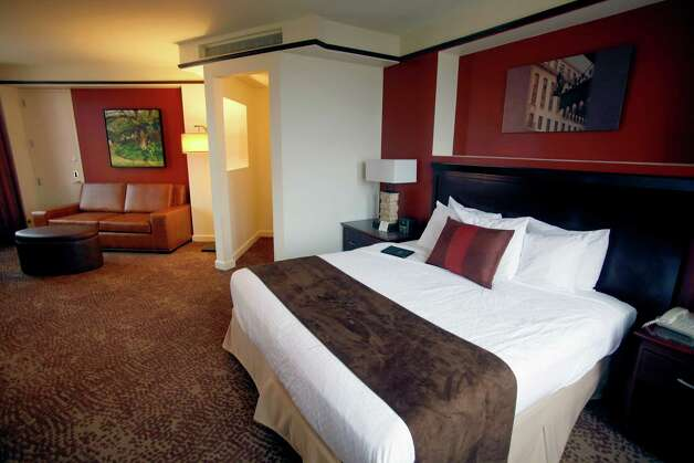 A remodeled room is seen at the Emily Morgan hotel. The hotel is under  new management and is undergoing a more than $4 million renovation. Photo: William Luther, San Antonio Express-News / © 2012 San Antonio Express-News