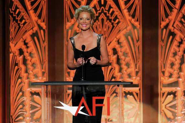 Katherine Heigl attends the AFI Life Achievement Award Honoring Shirley MacLaine at Sony Studios on June 7, 2012 in Culver City, Calif. The AFI Lifetime Achievement Honoring Shirley MacLaine airs on June 24, 2012 at 9pm on TV Land. (Photo by Chris Pizzello/Invision/AP) Photo: Chris Pizzello / 2012 Invision