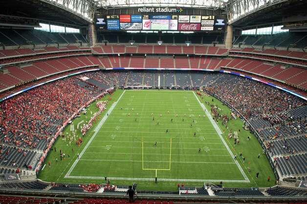 It cost $449 million to build Reliant Stadium. Now, you can build your own big-time football venue.  Photo: Smiley N. Pool, Houston Chronicle / © 2012  Houston Chronicle