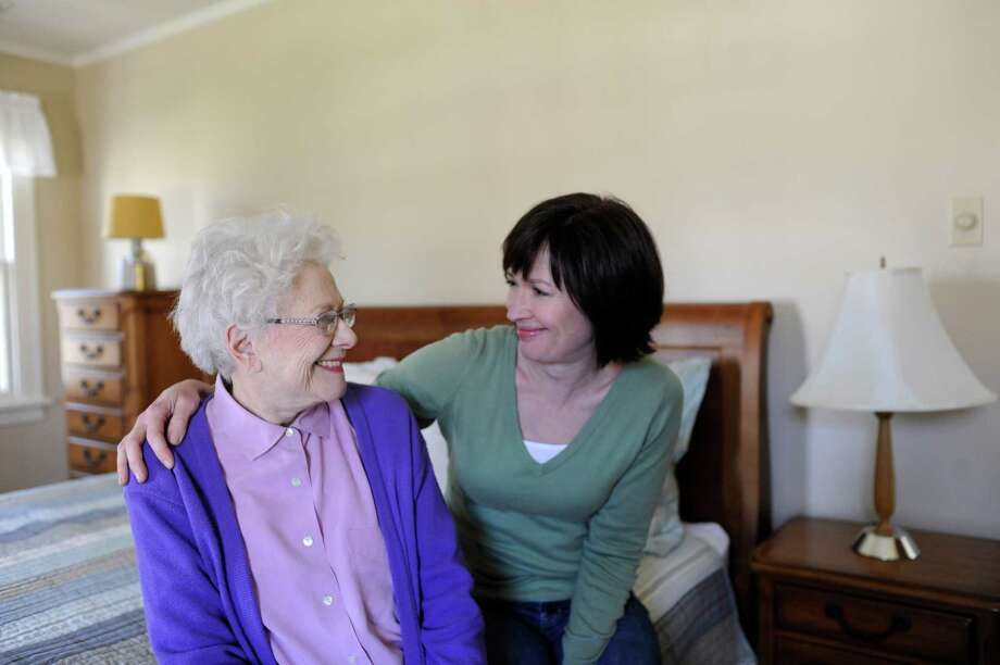 Alzheimer's disease can be hard on caregivers. (Alzheimer's Association)