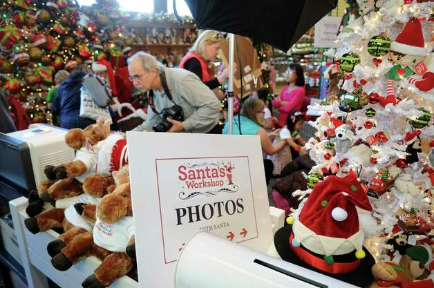 Photos with Santa are offered at McArdle's Florist and Garden Center in Greenwich on Friday, September 23, 2012. Photo: Lindsay Niegelberg / Stamford Advocate