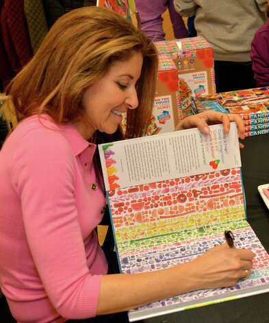 Dylan Lauren, of Dylan's Candy Bar in New York City, at her book signing at Darien Sports Shop Tuesday afternoon.  Nov. 20, 2012, Darien, Conn. Photo: Jeanna Petersen Shepard