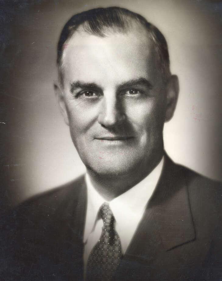 Holger Jeppesen, former Houston School Board president. Jeppesen Stadium was named after him before being named Robertson Stadium. Photo: Roulande Of Houston / Post file