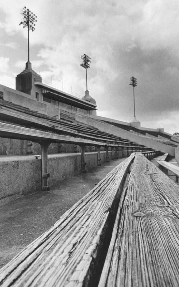 Jeppesen Stadium (later Robertson Stadium), Jun 1971. Photo: Curtis McGee, Houston Chronicle / Chronicle file