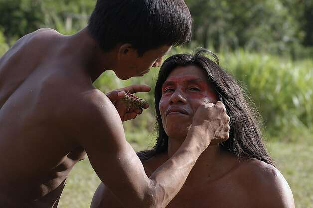Learning some of the customs of the Huaorani tribe is part of a new cultural immersion tour of Ecuador offered by Jacada Travel. Photo: Huaorani Lodge