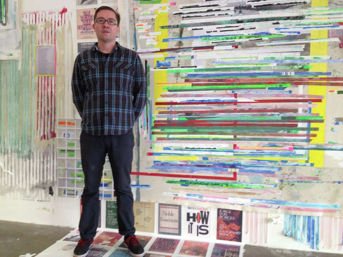 """New York artist Franklin Evans has filled DiverseWorks' new Midtown space with his """"houstontohouston"""" installation."""