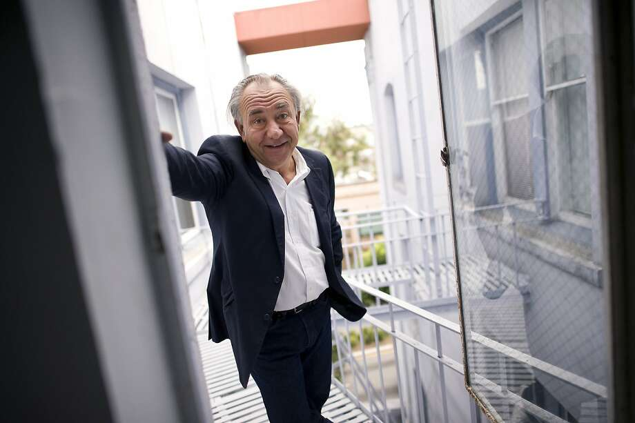 Political comedian William Durst poses for portraits at his office on Van Ness in San Francisco, CA, November 8th, 2012. Photo: Michael Short, Special To The Chronicle
