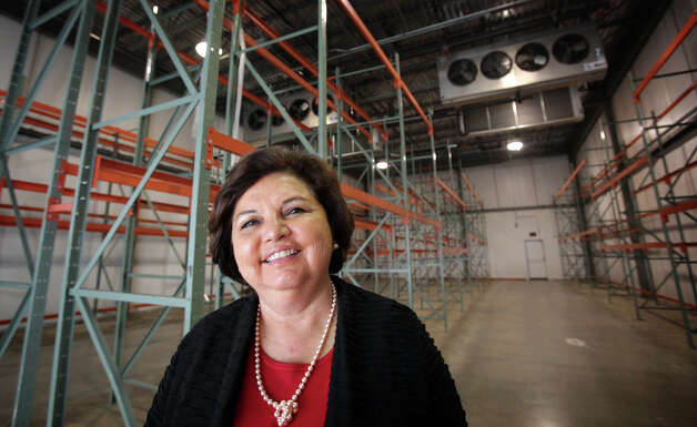 Sobrino started her company, which makes gelatin dessert products, in California about 30 years ago. Photo: Bob Owen, San Antonio Express-News / © 2012 San Antonio Express-News