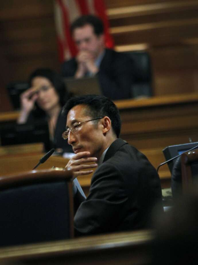 Supervisor Eric Mar took a courageous stand and won his election. Photo: Sarah Rice, Special To The Chronicle