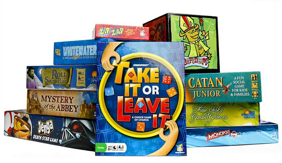 This year's crop of board games - including family, party and strategy games - include some variations of old favorites as well as new concepts.
