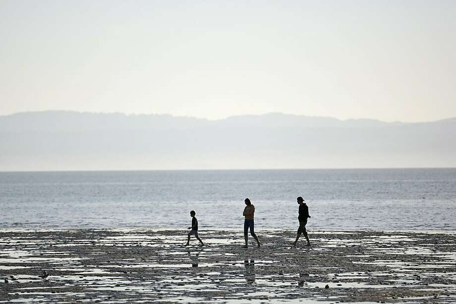 Crown Beach, which is the longest beach on San Francisco Bay, is a popular destination for visitors. Photo: Rashad Sisemore, The Chronicle