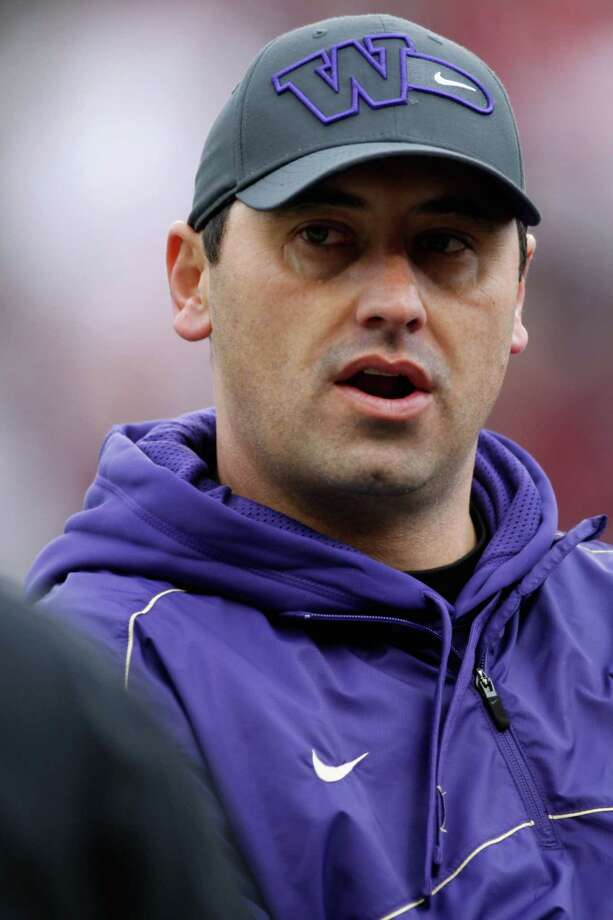 Head coach Steve Sarkisian of the Washington Huskies on the field prior to the start of the game against the Washington State Cougars. Photo: William Mancebo, Getty Images / 2012 Getty Images