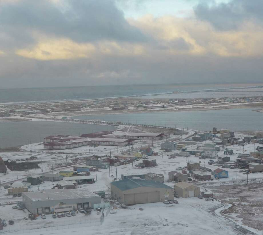 Barrow, Alaska, covers about 22 square miles and has just over 4,000 residents. Some native Alaskans are taking a pragmatic approach to offshore drilling. Photo: Jennifer A. Dlouhy