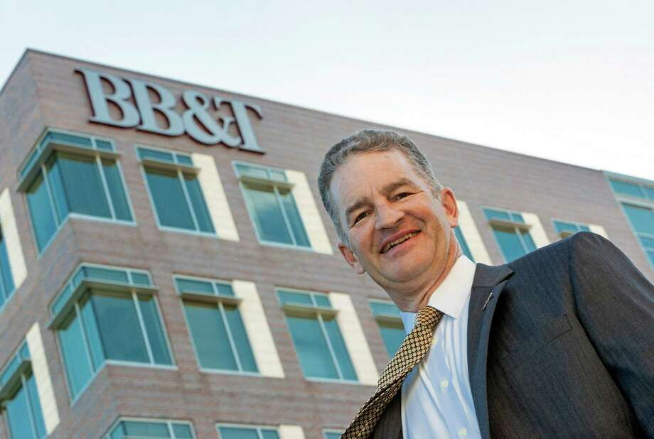 "Kevin Morley of BB&T, which already employs 1,200 in Texas, says, ""As the ninth-largest bank in the country, we have all of the products and resources that a large bank can offer."" Photo: Craig Hartley / Copyright: Craig H. Hartley"