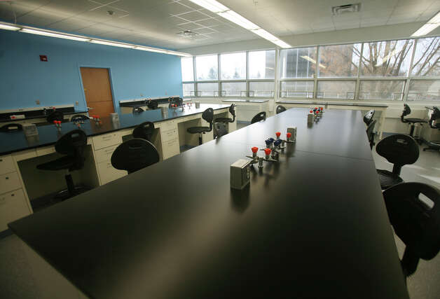 One of the new biology labs in the Charles Dana Science building at the University of Bridgeport on Tuesday, November 20, 2012. Photo: Brian A. Pounds / Connecticut Post