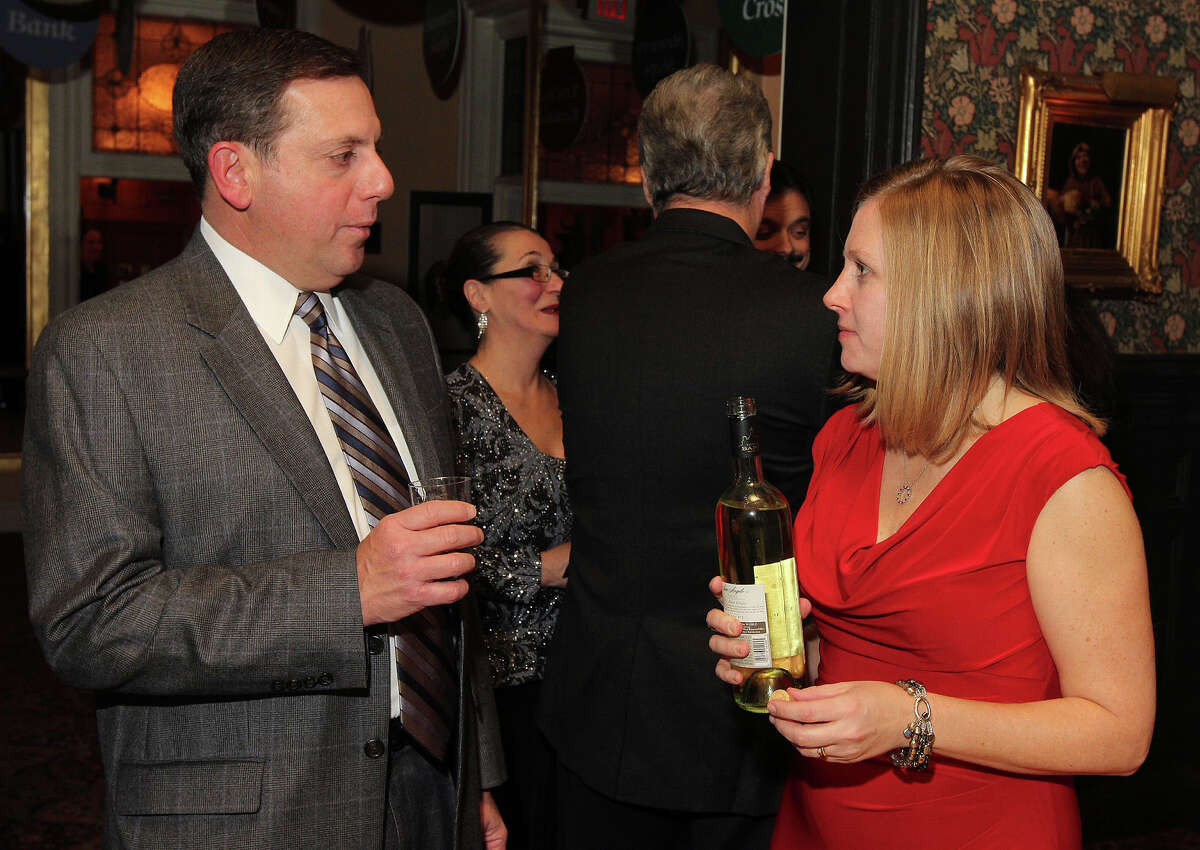 Were you Seen at St. Peter's Hospital Foundation's annual Holiday Kick-Off at the Fort Orange Club in Albany on Friday, Nov. 23, 2012?