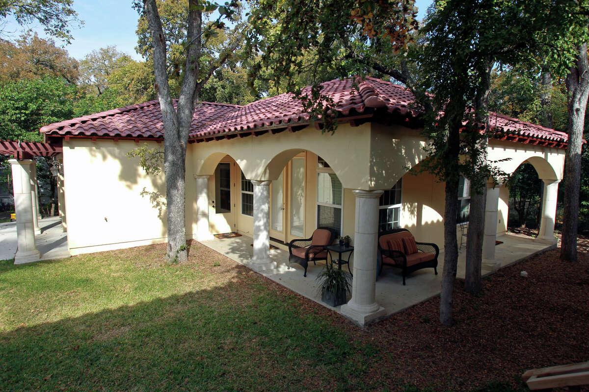 Cabana Spaces Mitchell on November 21, 2012.