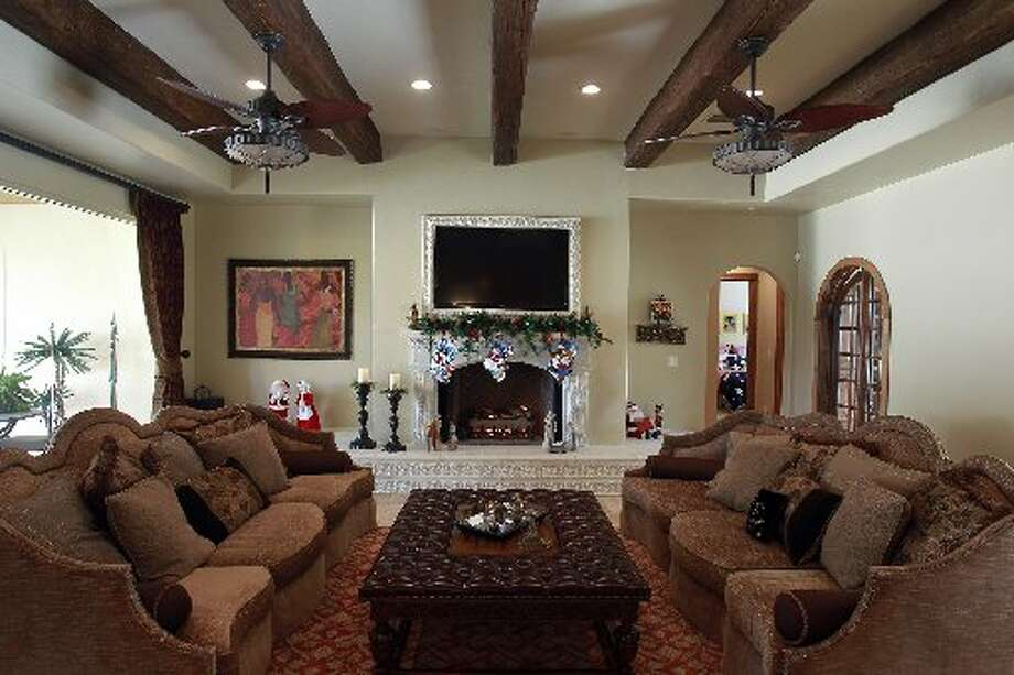 The home of Travis and Donna Mitchell in New Braunfels will be part of the 19ty Annual Daytime Christmas Tour of Homes.