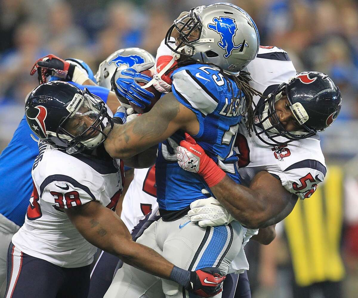 The Texans have played only one time on Thanksgiving during their first 18 seasons: in 2012 when they won at Detroit in overtime. They'll be back in the Motor City on Thursday morning to face the Lions.