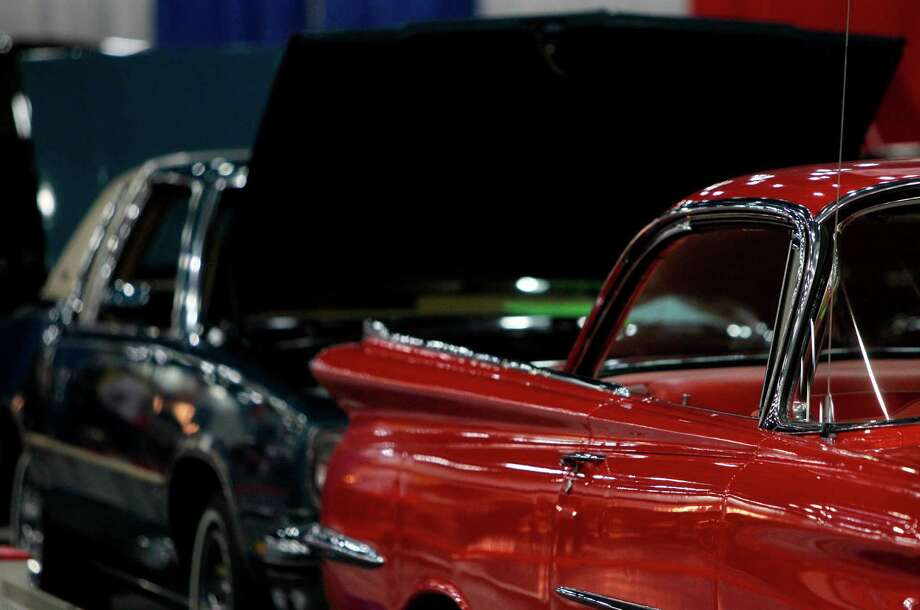Oldsmobile car clubs have vehicles on display during the 53rd Annual AutoRama car show at George R. Brown Convention Center. Photo: Mayra Beltran, Houston Chronicle / © 2012 Houston Chronicle
