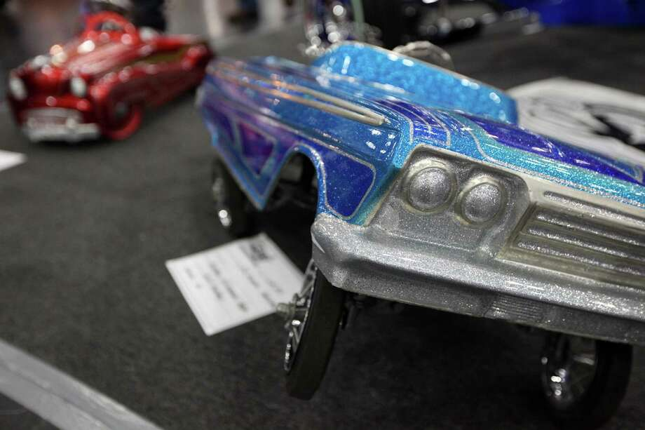 Miniature low riders are on display at AutoRama. Photo: Mayra Beltran, Houston Chronicle / © 2012 Houston Chronicle