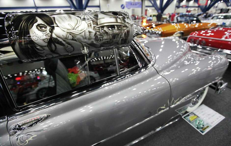 1951 Chevy custom designed vehicle is part of the LatinKustoms car club is on display at the 53rd An