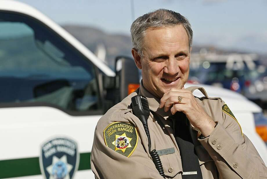 Bob Lotti, a former police chief in Colma, is the new manager of the Recreation and Park Department's park patrol unit. Photo: Rashad Sisemore, The Chronicle
