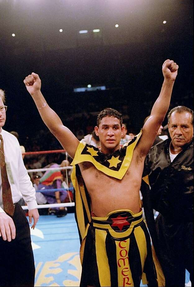 "Hector ""Macho"" Camacho won boxing titles in three divisions. Photo: Holly Stein, Getty Images"