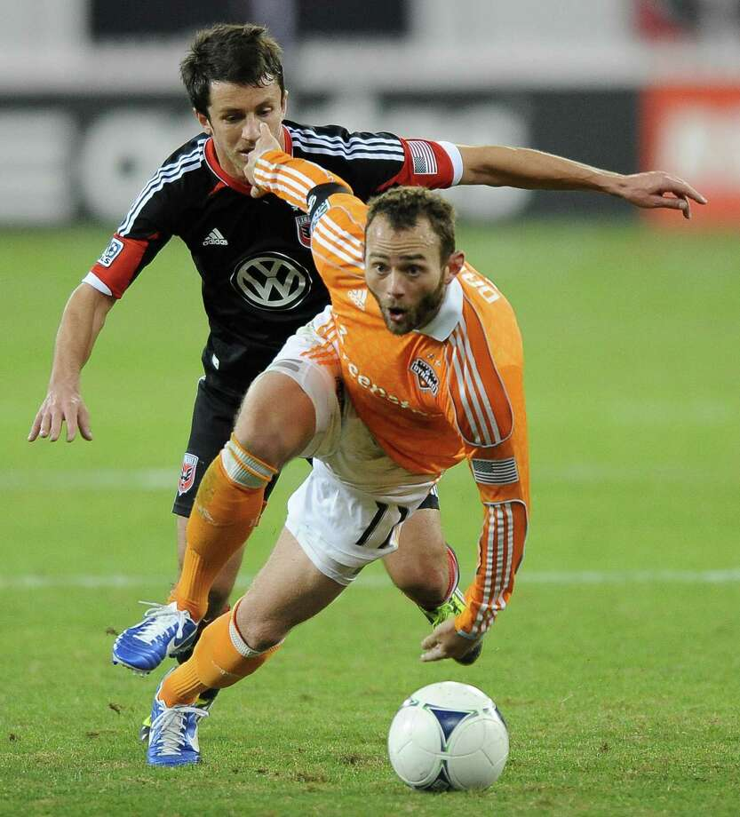 Dynamo midfielder Brad Davis was one of three Dynamo players selected to attend the U.S. national team's training camp. Photo: Chuck Myers / MCT