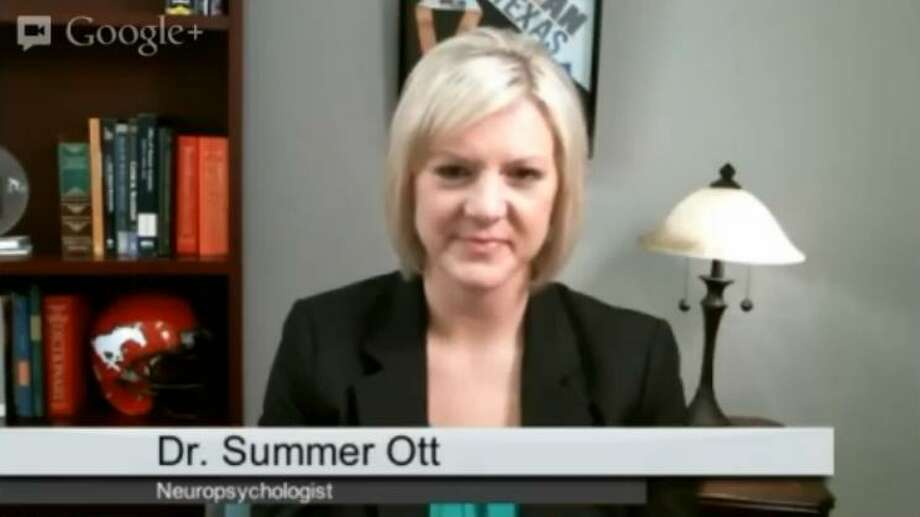 Dr. Summer Ott is a concussion expert at Memorial Hermann Hospital. Photo: Courtesy Photo