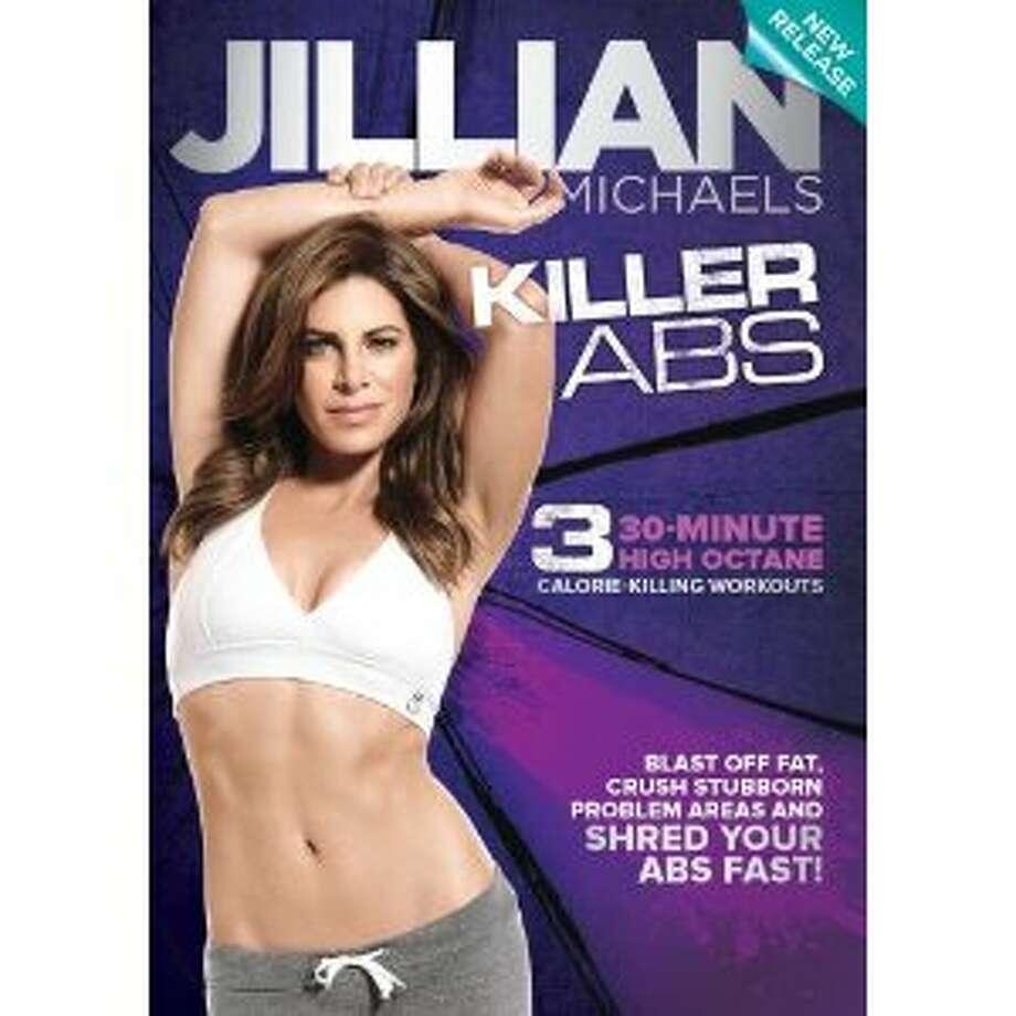 """Jillian Michaels """"Killer Abs"""" workout DVD. Photo: DVD Cover"""