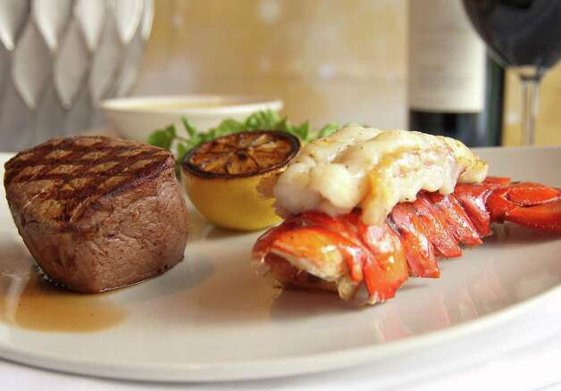Through Dec. 30, Morton's is offering an off-the-menu special (you need to ask for it). For $49.95, get a steak and cold-water lobster tail with drawn butter. Photo: Courtesy Landry's Inc.
