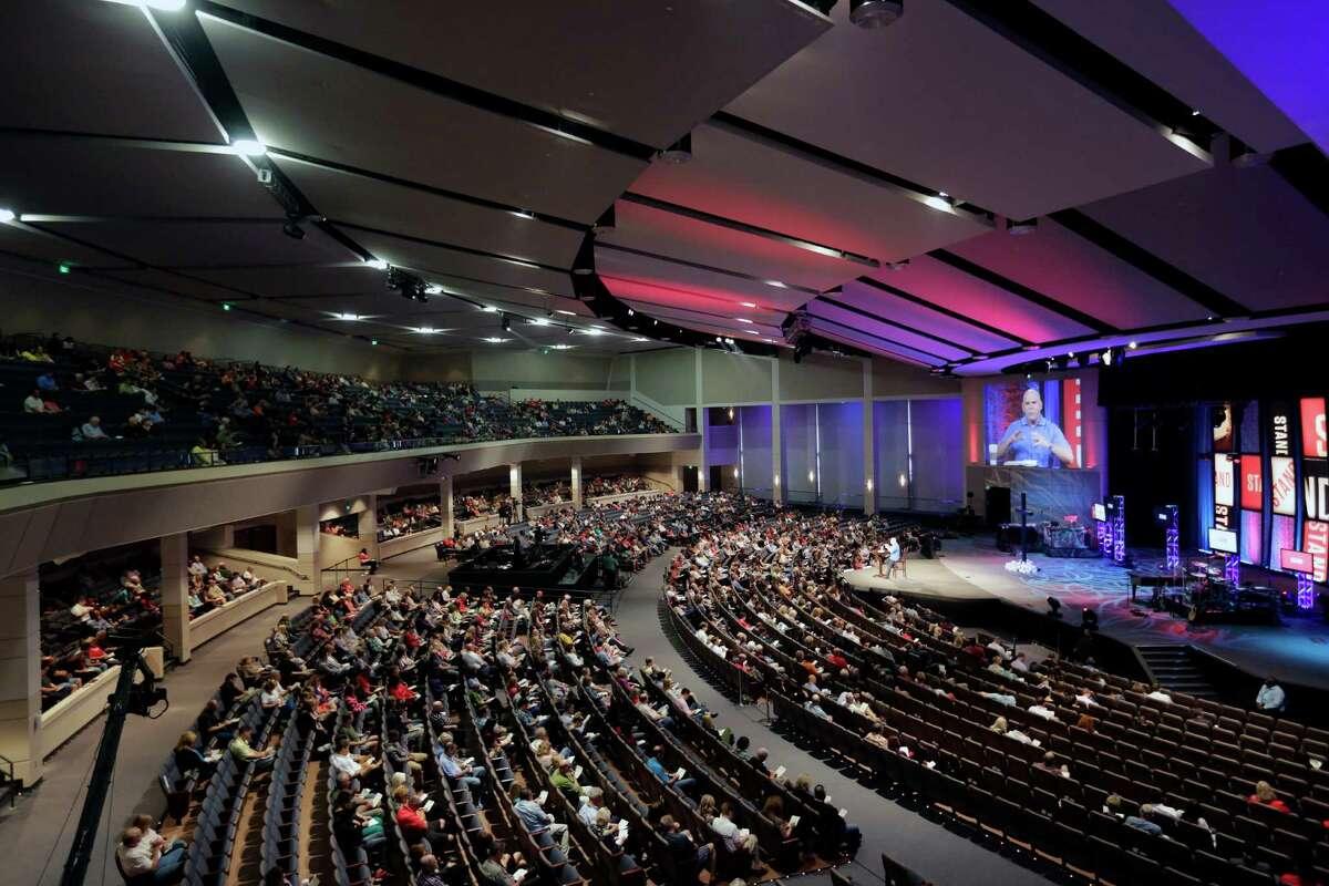 The Woodlands Church - The Woodlands Pastor Kerry Shook Attendance: 16,380
