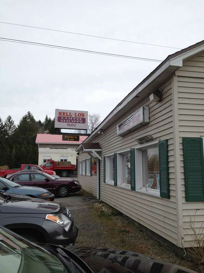 Lo Ann Sanders, Saratoga County's deputy clerk, claims her primary residence an apartment that she rents to tenants in this Galway commerical building. The apartment is on Route 29, above a diner and hair salon located in a building Sanders owns.