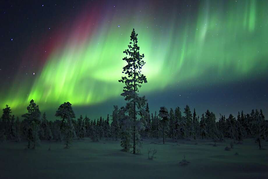 This winter should bring the biggest displays of aurora borealis since 1958. Photo: Kensington Tours