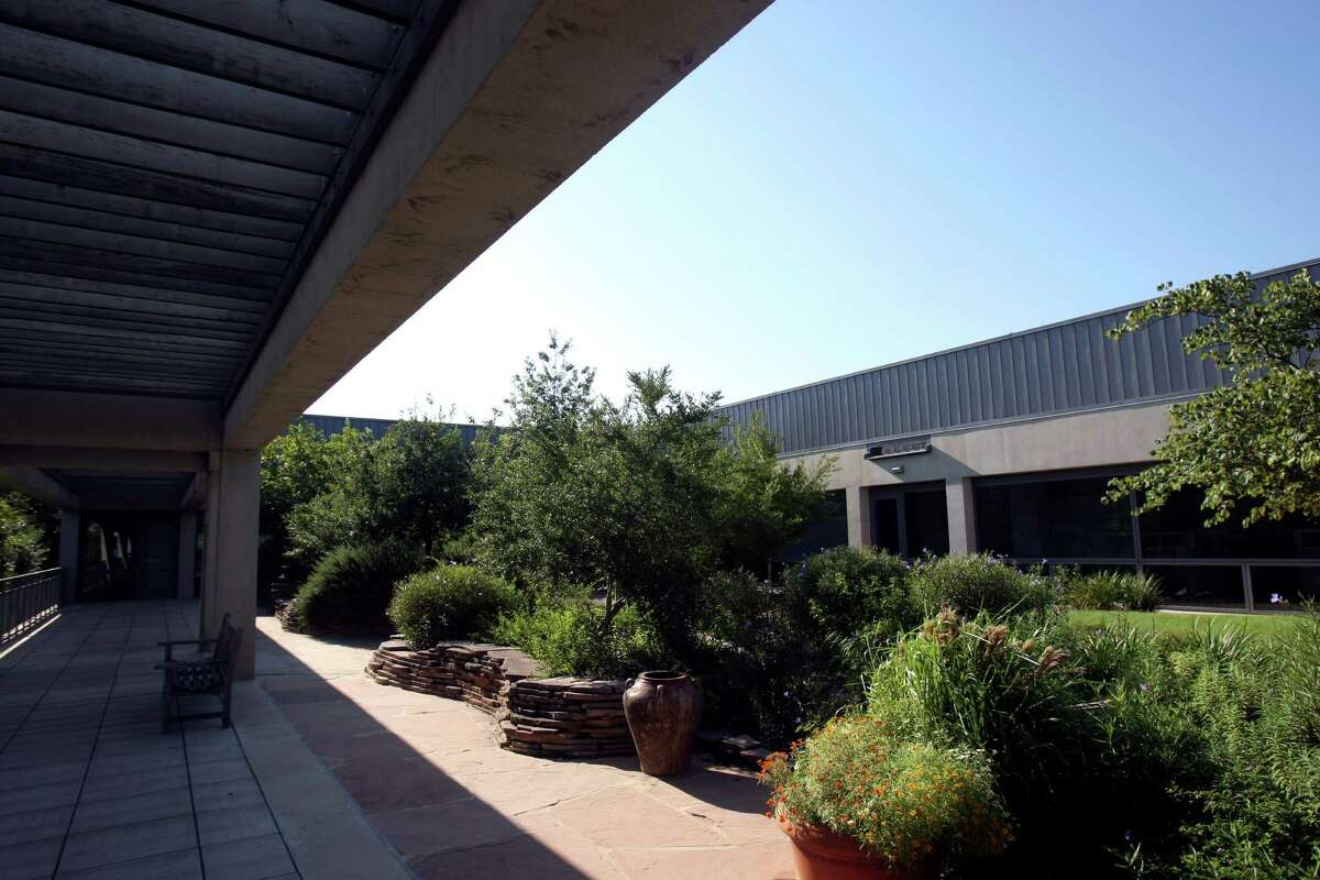 The American Funds building in Westover Hills. The design was purposeful to allow a view of nature from every office in the building. The building was designed to use the natural landscaping and allow for natural lighting throughout the building.