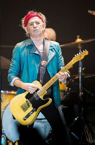 LONDON, ENGLAND - NOVEMBER 25: (STRICTLY EDITORIAL USE ONLY) Keith Richards of The Rolling Stones performs live at 02 Arena on November 25, 2012 in London, England.  (Photo by Ian Gavan/Getty Images) Photo: Ian Gavan, Getty Images