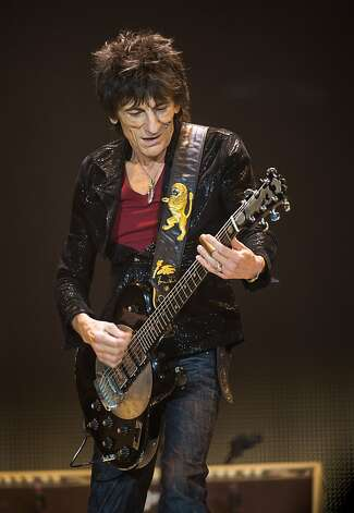 LONDON, ENGLAND - NOVEMBER 25: (STRICTLY EDITORIAL USE ONLY) Ronnie Wood of The Rolling Stones perform live at 02 Arena on November 25, 2012 in London, England.  (Photo by Ian Gavan/Getty Images) Photo: Ian Gavan, Getty Images