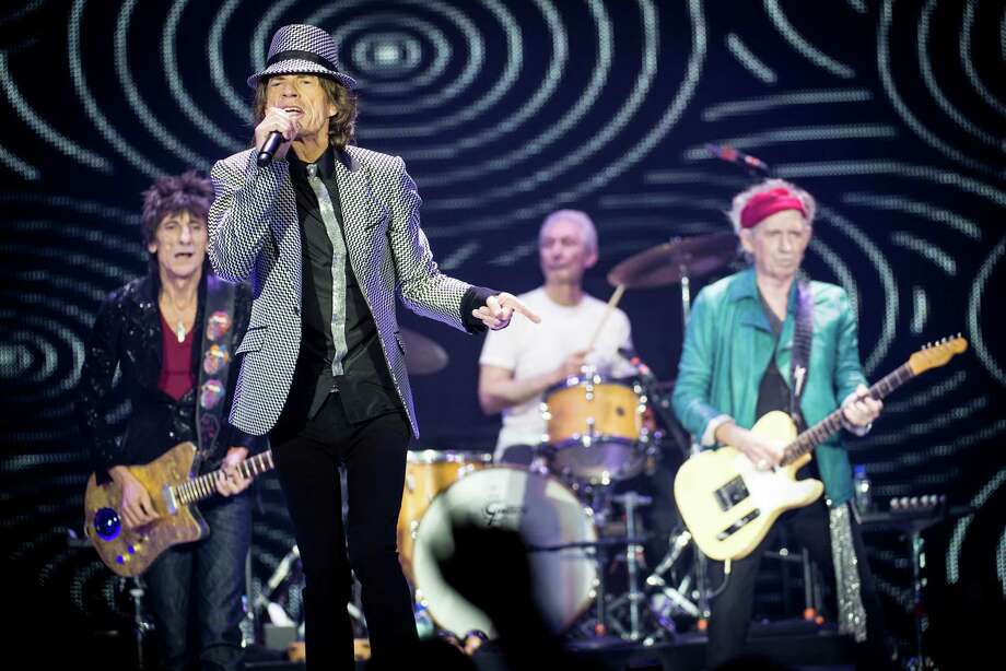 LONDON, ENGLAND - NOVEMBER 25: (STRICTLY EDITORIAL USE ONLY)Ronnie Wood, Mick Jagger, Charlie Watts and Keith Richards of The Rolling Stones perform live at 02 Arena on November 25, 2012 in London, England. Photo: Ian Gavan, Getty Images / 2012 Getty Images