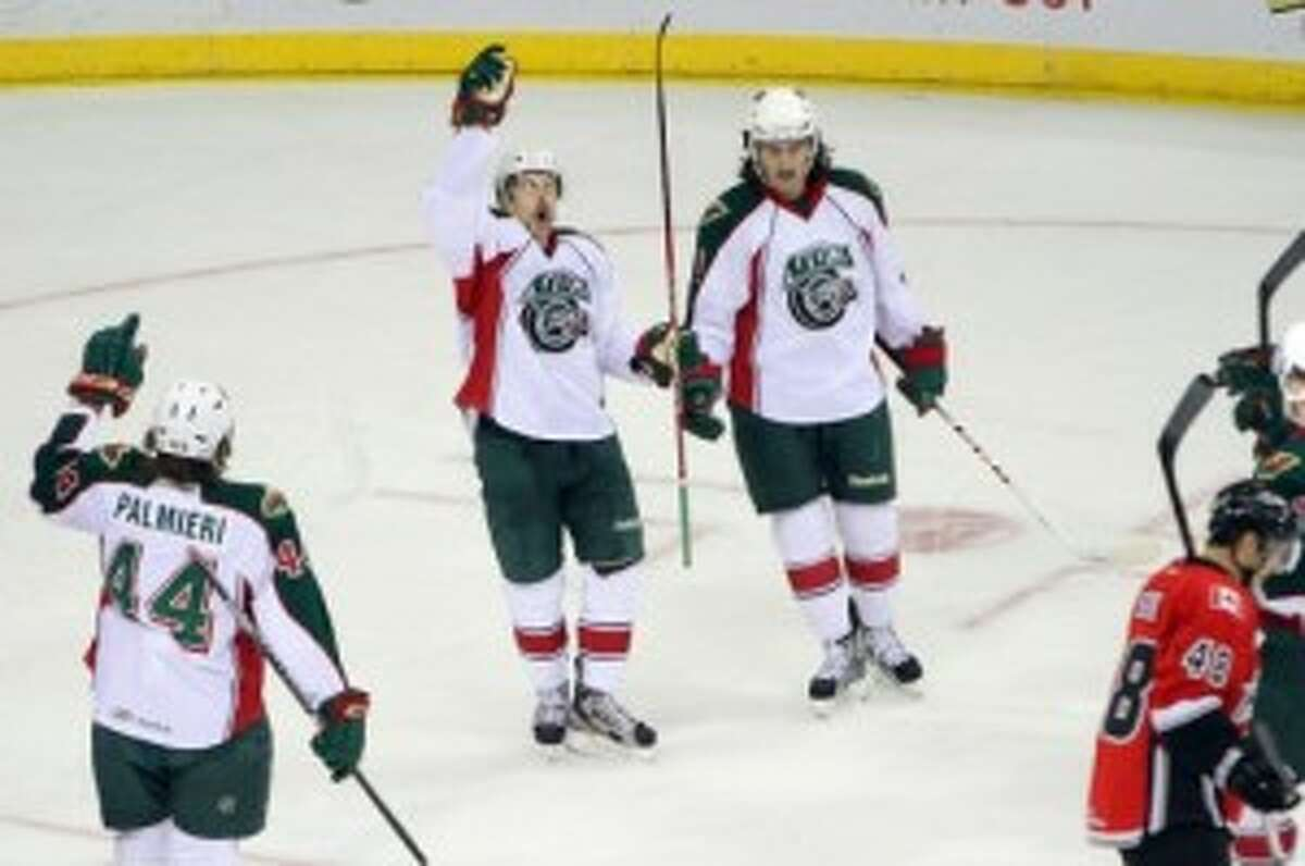 After 19 seasons playing in Houston, the Aeros could be on their way out of town. (Photo courtesy of Morris Molina/Houston Aeros)