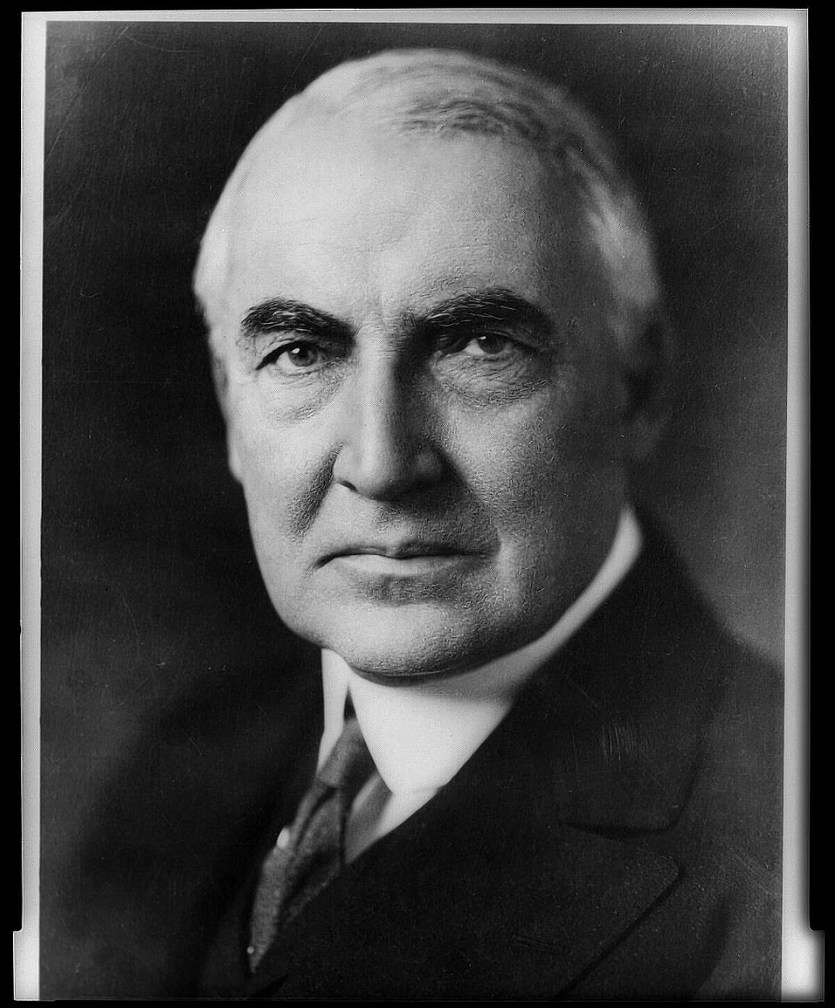 President Warren G. Harding has been said to have black ancestry.