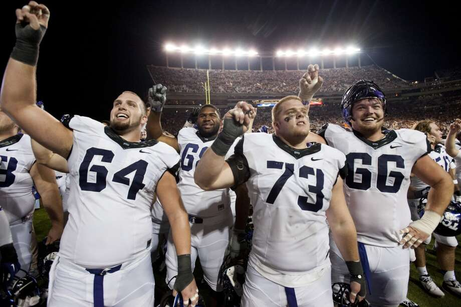 2. TCU (7-4, next game: Saturday vs. Oklahoma) -- Patterson can claim otherwise, but trying telling some long-suffering Horned Frog alums that beating Texas in Austin for the first time in 45 years wasn't a big, big deal. (Getty Images)